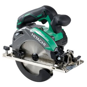 Hitachi C18DBAL/JP 18v Circular Saw with 2 x 5.0 Ah Li-ion Batteries