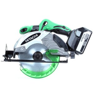 Hitachi C18DSL/JJ 18v Circular Saw with 2 x 5.0 Ah Li-ion Batteries