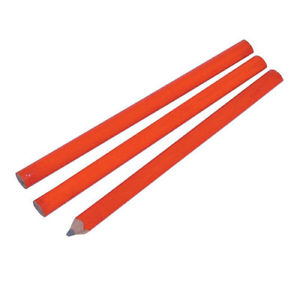 Silverline CB81UB 3 pack Carpenters Pencils
