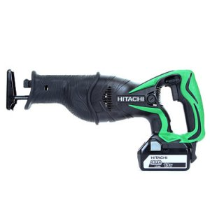 Hitachi CR18DSL/JJ 18v Reciprocating Saw with 2 x 5.0 Ah Li-ion Batteries