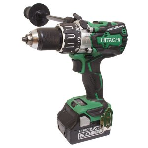 Hitachi DV18DBXL/JX Brushless Combi Drill with 2 x 6.0 Ah Li-ion Batteries