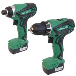 Hitachi KCDFL2/JP 10.8v 2 Piece Kit
