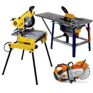 Saws and Saw Benches