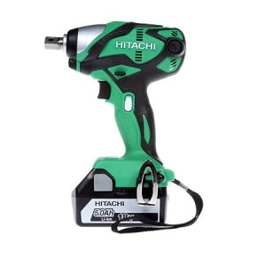 Hitachi WR18DSDL/JJ 18v Impact Wrench with 2 x 5.0 Ah Li-ion Batteries