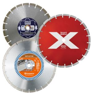 Diamond Blades for Floor Saws, Cut-off Saws and Angle Grinders
