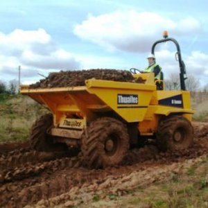 6 Tonne Forward Tip Dumper