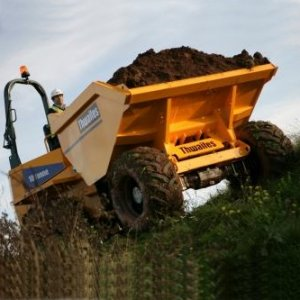 10 Tonne Forward Tip Dumper