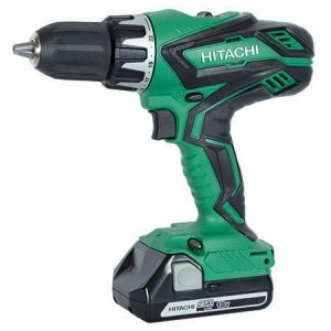 Hitachi DV18DGL/JM 18v Combi Drill with 2 x 3.0 Ah Li-ion Batteries