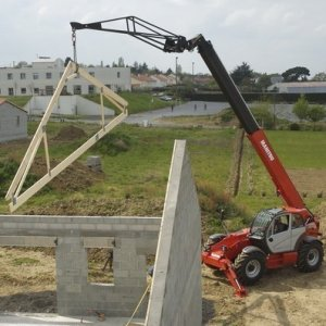 17.5m Telescopic Handler