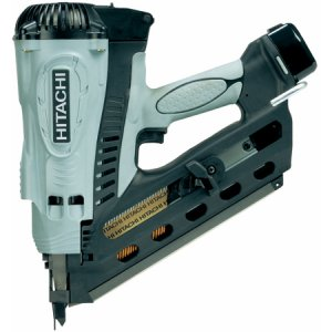 Hitachi NR90GC2 18v Gas Framing Nailer with 2 x 1.4 Ah Li-ion Batteries